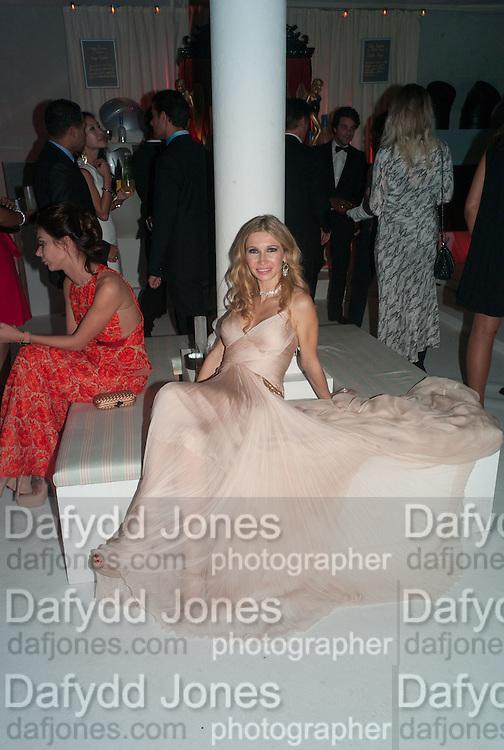 JULIA GONCARUK, Grey Goose Winter Ball to benefit the Elton John Aids Foundation. Battersea Power Station. London. 10 November 2012.