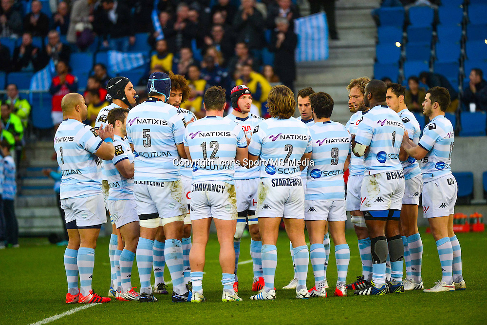 Groupe Racing Metro - 07.03.2015 -  Racing Metro / Grenoble  -  19eme journee de Top 14<br />