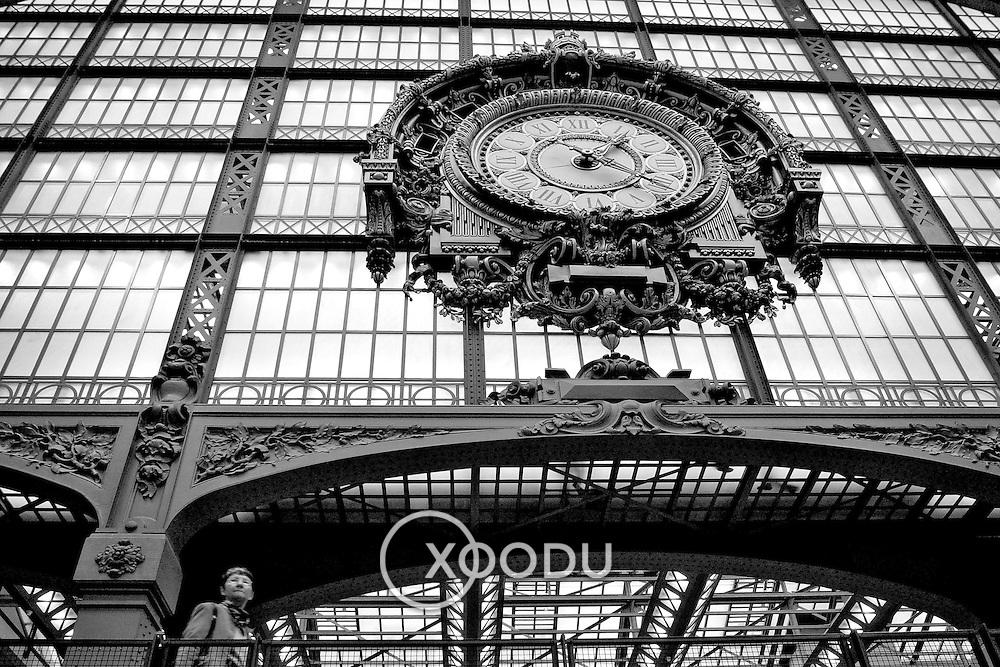 Clock, Paris, France (October 2004)