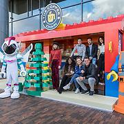 NLD/Utrecht/20190203- Première De LEGO Film 2, Cast van de Film in het lego cafe