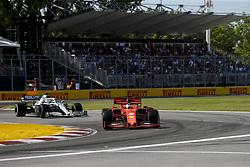 June 9, 2019 - Montreal, Canada - Motorsports: FIA Formula One World Championship 2019, Grand Prix of Canada, ..#5 Sebastian Vettel (GER, Scuderia Ferrari Mission Winnow) (Credit Image: © Hoch Zwei via ZUMA Wire)
