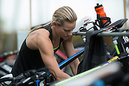 Renee Baker (AUS), June 1, 2014 - TRIATHLON : Coral Coast 5150 Triathlon, Cairns Airport Adventure Festival, Four Mile Beach, Port Douglas, Queensland, Australia. Credit: Lucas Wroe