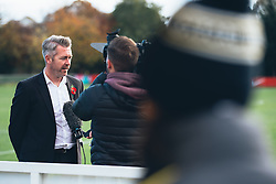 Bristol City Women Manager Willie Kirk is interviewed - Rogan Thomson/JMP - 06/11/2016 - FOOTBALL - The Northcourt Stadium - Abingdon-on-Thames, England - Oxford United Women v Bristol City Women - FA Women's Super League 2.