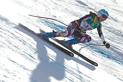 10.02.2011, Kandahar, Garmisch Partenkirchen, GER, FIS Alpin Ski WM 2011, GAP, Damen Abfahrtstraining, im Bild Julia Mancuso (USA) whilst competing in the women's downhill training run on the Kandahar race piste at the 2011 Alpine skiing World Championships, EXPA Pictures © 2011, PhotoCredit: EXPA/ M. Gunn