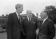 8/9/1964<br /> 9/8/1964<br /> 8 September 1964<br /> <br /> Mr F. Slocum of W&R Grace in New York, Mr Wolfgang Smit the Managing Director of Van Houten and Zoon in Holland and Mr. Redmond Gallagher Chairman of Urney Chocolates