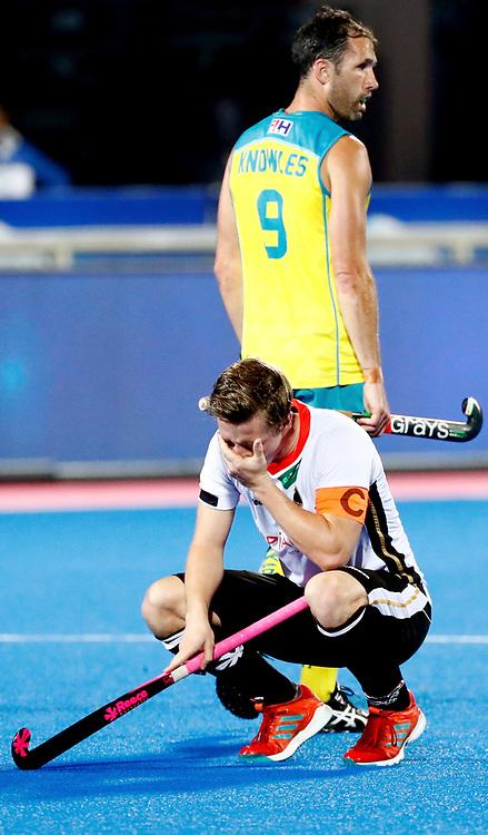 Odisha Men's Hockey World League Final Bhubaneswar 2017<br /> Match id:20<br /> Australia v Germany<br /> Foto: Australia wins the Semi Final against Germany.<br /> Mats Grambusch (Ger) <br /> COPYRIGHT WORLDSPORTPICS KOEN SUYK