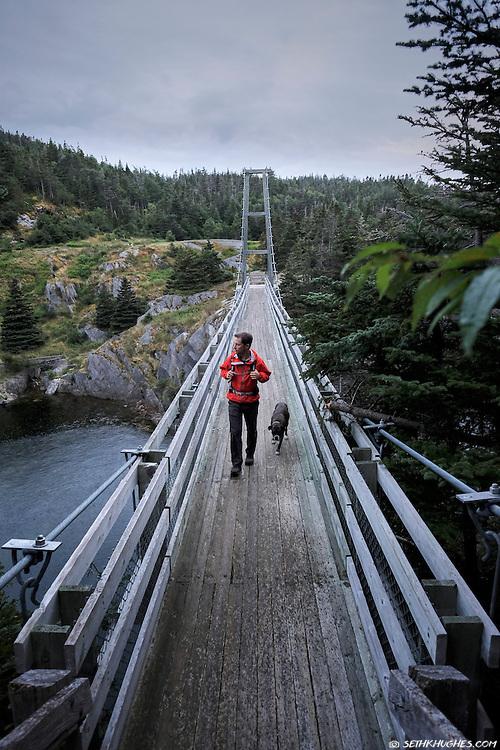 Hiking the East Coast Trail, La Manche Provincial Park, Avalon Peninsula, Newfoundland, Canada