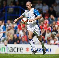 BIRKENHEAD, ENGLAND - Saturday, July 12, 2008: Tranmere Rovers's Ben Chorley during his side's first pre-season match of the 2008/2009 season against Liverpool at Prenton Park. (Photo by David Rawcliffe/Propaganda)