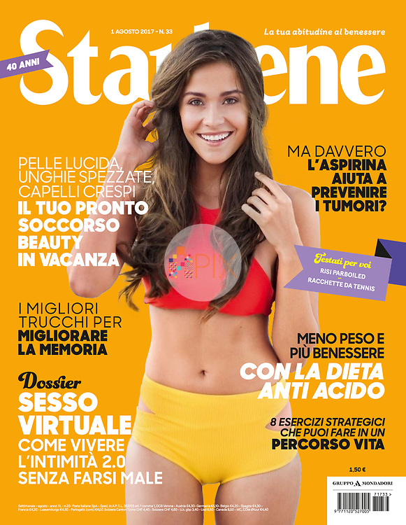 Our vibrant and healthy summer cover for the August issue of STARBENE magazine in Italy.<br />