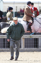The Duke of Edinburgh  at the Royal Windsor Horse Show, Thursday,  May 9th 2013.  Photo by: Stephen Lock / i-Images