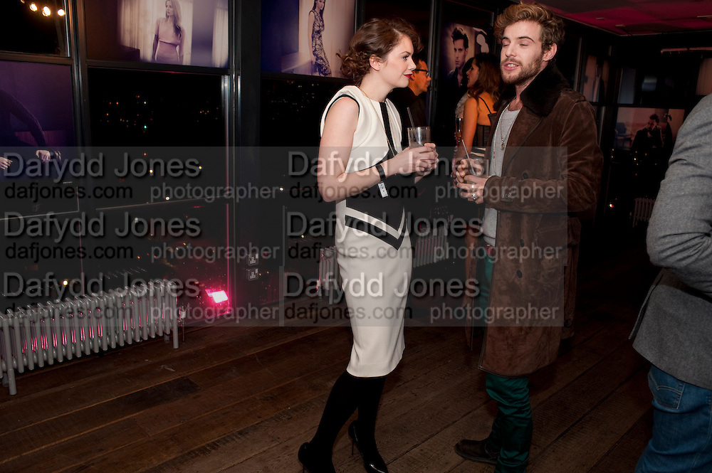 RUTH WILSON; LUKE TREADAWAY, InStyle Best Of British Talent , Shoreditch House, Ebor Street, London, E1 6AW, 26 January 2011