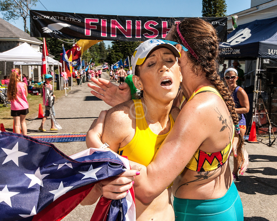 Great Cranberry Island Ultra 50K road race: Lindsay finishes exhausted