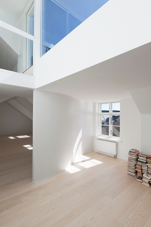 Loft apartment in Helsinki, Finland designed by ALA architects.