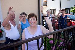 Spectators at 1st stage of Tour de Slovenie 2009 from Koper (SLO) to Villach (AUT),  229 km, on June 18 2009, in Koper, Slovenia. (Photo by Vid Ponikvar / Sportida)