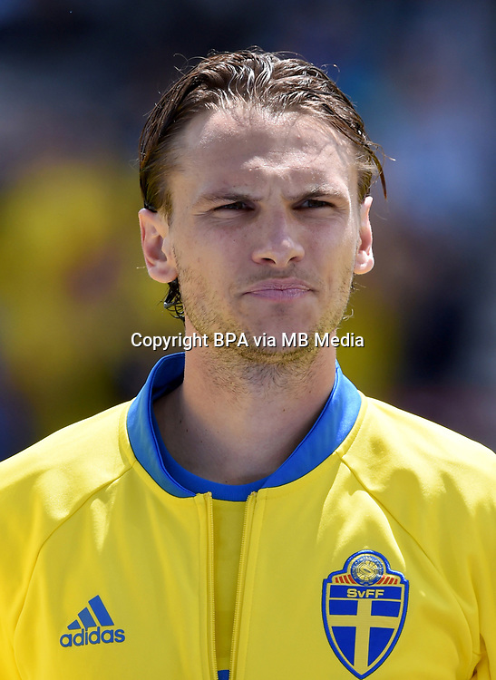 Uefa - World Cup Fifa Russia 2018 Qualifier / <br /> Sweden National Team - Preview Set - <br /> Albin Ekdal