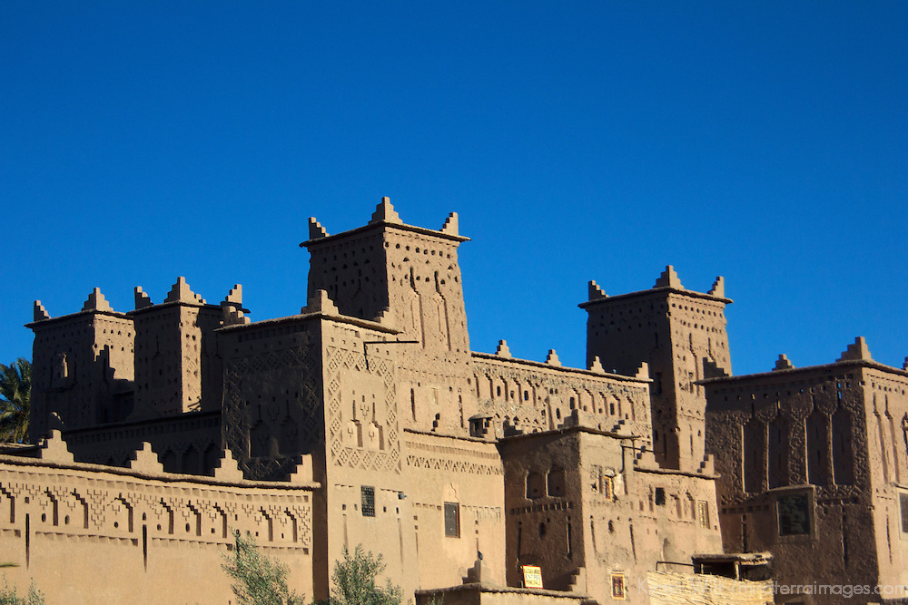 Africa, Morocco, Skoura. Kasbah Amridil in Skoura.