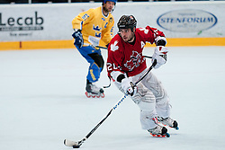 David Hammond, 20, of Canada at IIHF In-Line Hockey World Championships Top Division match for third place between National teams of Canada and Sweden on July 4, 2010, in Karlstad, Sweden. (Photo by Matic Klansek Velej / Sportida)