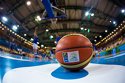 Ball before basketball match between national team of Finnland and Sweden of Eurobasket 2013 on September 5, 2013 in Arena Bonifika, Koper, Slovenia. (Photo By Matic Klansek Velej / Sportida.com)