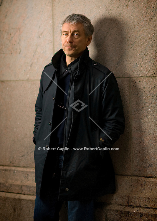 Director Tony Gilroy portrait at New York's Grand Central Station.