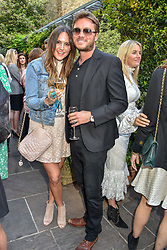 Ben Caring & Elle Caring at The Ivy Chelsea Garden Summer Party ,The Ivy Chelsea Garden, King's Road, London, England. 14 May 2019. <br /> <br /> ***For fees please contact us prior to publication***