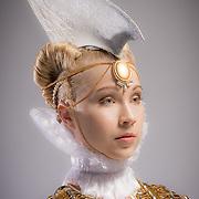 Costumier Georgia Pope, The Empress. Costume Showcase 2014.