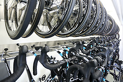 Bicycles of Team SKY before press conference of cycling race Po Sloveniji - Tour de Slovenie 2015 on June 15, 2016 in Hotel Jama, Postojna, Slovenia. Photo by Morgan Kristan / Sportida