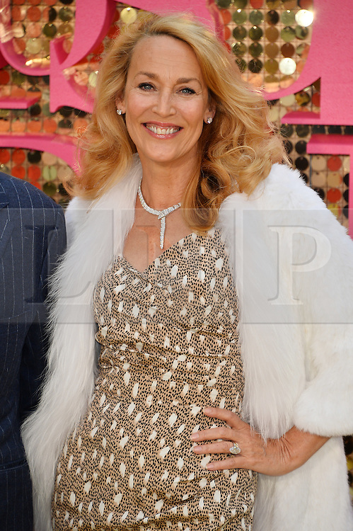 © Licensed to London News Pictures. 29/06/2016.  JERRY HALL attends the ABSOLUTELY FABULOUS world film premiere. London, UK. Photo credit: Ray Tang/LNP