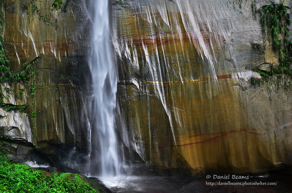 Waterfall in Amboro National Park, Santa Cruz, Bolivia