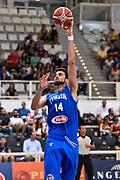DESCRIZIONE : Trento Nazionale Italia Maschile Trentino Basket Cup Italia Paesi Bassi Italy Netherlands <br /> GIOCATORE : Riccardo Cervi<br /> CATEGORIA : Tiro Gancio Before Pregame Riscaldamento<br /> SQUADRA : Italia Italy<br /> EVENTO : Trentino Basket Cup<br /> GARA : Italia Paesi Bassi Italy Netherlands<br /> DATA : 30/07/2015<br /> SPORT : Pallacanestro<br /> AUTORE : Agenzia Ciamillo-Castoria/GiulioCiamillo<br /> Galleria : FIP Nazionali 2015<br /> Fotonotizia : Trento Nazionale Italia Uomini Trentino Basket Cup Italia Paesi Bassi Italy Netherlands