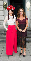 03/08/2017   Repro free  Hotel Meyrick for Galway's 'Most Stylish Lady' Competition, at a glamorous evening reception in the Parlour Lounge of Hotel Meyrick on Ladies Day of the Galway Races. Head judge this year was the stunning Lorraine Keane,  assisted by fellow fashion experts Mandy Maher, (lhs) owner of Catwalk Modelling Agency  .  Photo: Andrew Downes, xposure