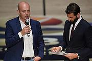 Massimiliano Menetti<br /> Presentazione Campionato Lega Basket 2016-2017<br /> Basket Serie A  2016<br /> Milano 26/09/2016<br /> Foto Ciamillo-Castoria