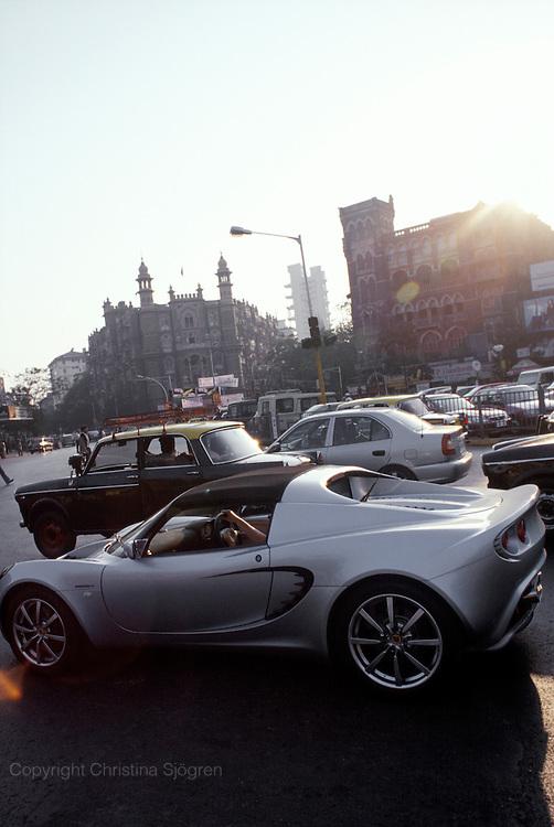 Colaba traffic, Mumbai, India