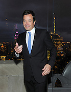The Tonight Show host Jimmy Fallon attends the opening of the historic Rainbow Room at 30 Rockefeller Plaza, Wednesday, Oct. 1, 2014 in New York. (Photo by Diane Bondareff/Invision for Tishman Speyer/AP Images)