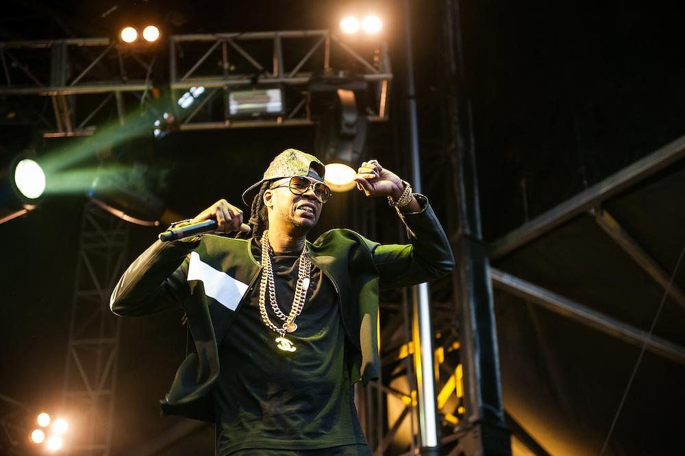 2 Chainz at Lollapalooza