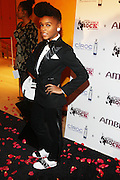 Janelle Monae at the 2009 Black Girls Rock Awards held at The Times Center on October 17, 2009 in New York City..The Black Girl Rock! Awards were created to celebrate the accomplishments of exceptional women of color who have made outstanding contributions in their careers and who stand as inspirational in the community.