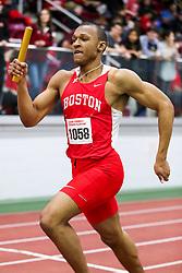 4x400, Boston U, <br /> BU Terrier Indoor track meet