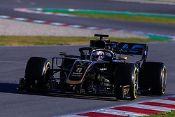 February 18, 2019 - Montmelo, BARCELONA, Spain - Romain Grosjean from France with 08 Rich Energy Haas F1 Team in action during the Formula 1 2019 Pre-Season Tests at Circuit de Barcelona - Catalunya in Montmelo, Spain on February 18. (Credit Image: © AFP7 via ZUMA Wire)