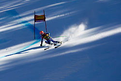 Winner LIGETY Tedof USA competes during 2nd Run of 8th Men's Giant Slalom - Pokal Vitranc 2012 of FIS Alpine Ski World Cup 2011/2012, on March 10, 2012 in Vitranc, Kranjska Gora, Slovenia.  (Photo By Vid Ponikvar / Sportida.com)