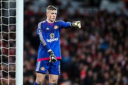 Jordan Pickford of Sunderland in action - Mandatory byline: Jason Brown/JMP - 07966386802 - 09/01/2016 - FOOTBALL - Emirates Stadium - London, England - Arsenal v Sunderland - The Emirates FA Cup