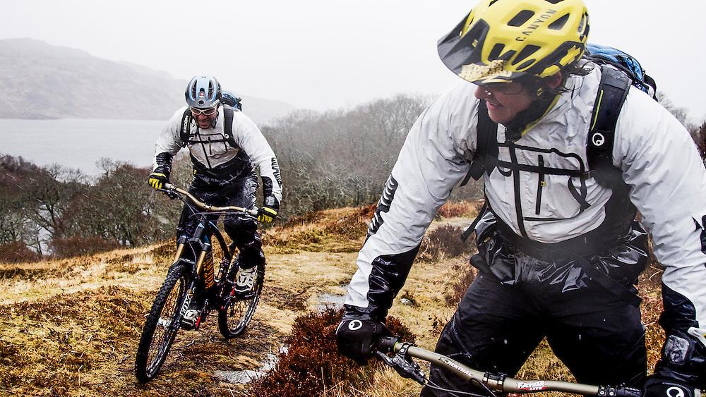 Rider: Joe Barnes and Fabien Barel Location: Scotland