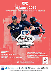 Maxime Lefevre, Owen Ozanich, Felix Brown, French All-Star Game street advertising, 2016.