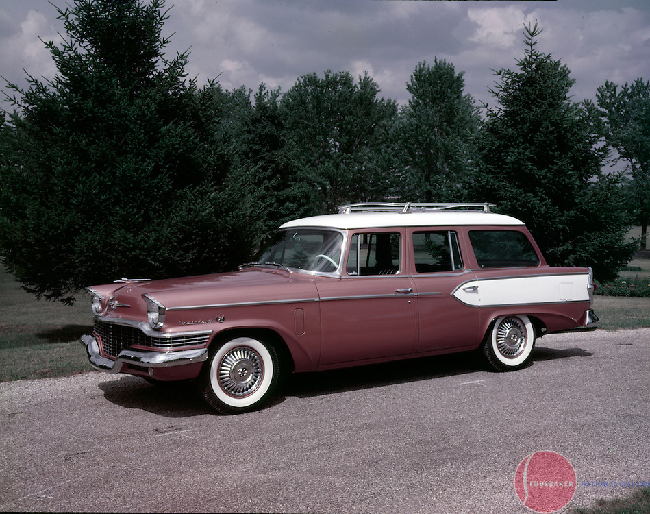 1957 President Broadmoor Station Wagon.