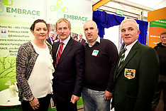 Taoiseach Enda Kenny at The Health and Safety Authority Stand