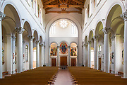 St. Joseph Abbey in St. Benedict, Louisiana on July 30, 2017; ©2017, George H. Long, all rights reserved