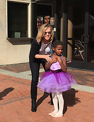 "EXCLUSIVE: June 10th 2017. Charlize Theron with her kids son Jackson Theron, daughter August Theron, mother Gerda Jacoba Aletta Maritz and her sister leaving Japanese American Cultural & Community Center in Downtown Los Angeles after celebrating anniversary of West Hollywood ABC's Of Dance School. Charlize Theron's son Jackson was participating in Spring Recital "" Dancing Through The Pages"". 17 Jun 2017 Pictured: Charles Jacobus Theron, sister. Photo credit: BELFA / MEGA TheMegaAgency.com +1 888 505 6342"