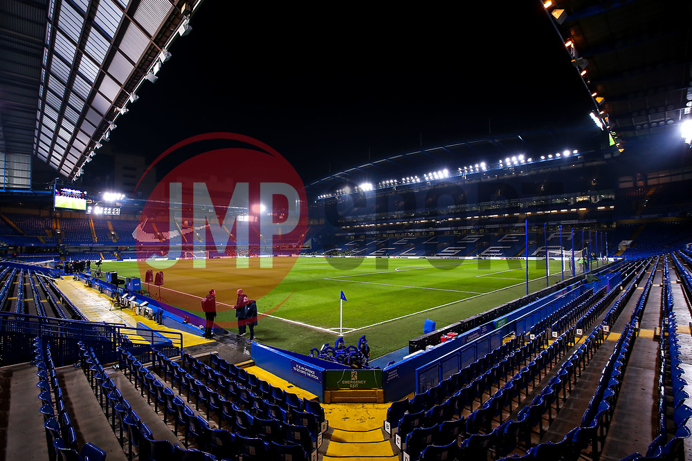 A general view of Stamford Bridge, home of Chelsea - Mandatory by-line: Robbie Stephenson/JMP - 24/01/2019 - FOOTBALL - Stamford Bridge - London, England - Chelsea v Tottenham Hotspur - Carabao Cup