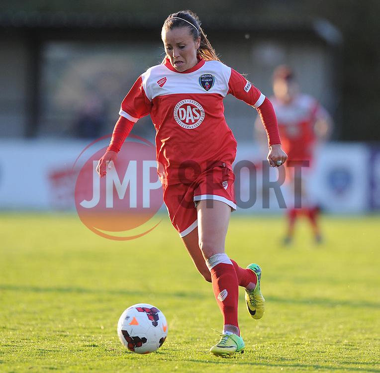 Bristol Academy's Loren Dykes - Photo mandatory by-line: Alex James/JMP - Mobile: 07966 386802 23/08/2014 - SPORT - FOOTBALL - Bristol  - Bristol Academy v Everton Ladies - FA Women's Super league