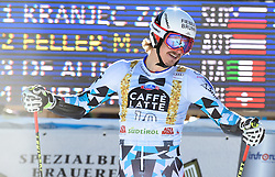 18.12.2016, Grand Risa, La Villa, ITA, FIS Weltcup Ski Alpin, Alta Badia, Riesenslalom, Herren, 2. Lauf, im Bild Manuel Feller (AUT) // Manuel Feller of Austria reacts after his 2nd run of men's Giant Slalom of FIS ski alpine world cup at the Grand Risa in La Villa, Italy on 2016/12/18. EXPA Pictures © 2016, PhotoCredit: EXPA/ Erich Spiess
