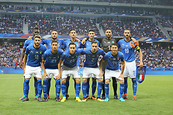 June 1, 2018 - Nice, France - Italy National Team before the friendly football match between France and Italy at Allianz Riviera stadium on June 01, 2018 in Nice, France. (Credit Image: © Massimiliano Ferraro/NurPhoto via ZUMA Press)