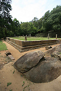 Ancient archeological site, Sri Lanka